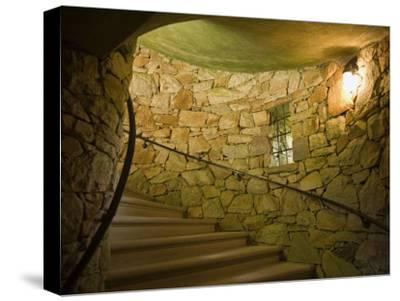 Tower Staircase at Longwood Gardens-Scott Warren-Stretched Canvas Print