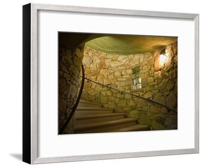Tower Staircase at Longwood Gardens-Scott Warren-Framed Photographic Print