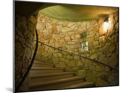 Tower Staircase at Longwood Gardens-Scott Warren-Mounted Photographic Print