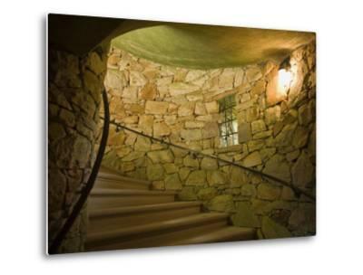 Tower Staircase at Longwood Gardens-Scott Warren-Metal Print