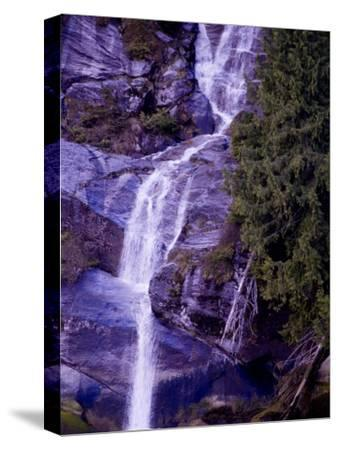 Waterfall in a Rain Forest-Pete Ryan-Stretched Canvas Print