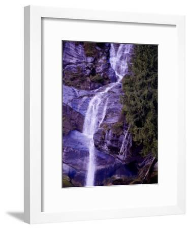 Waterfall in a Rain Forest-Pete Ryan-Framed Photographic Print