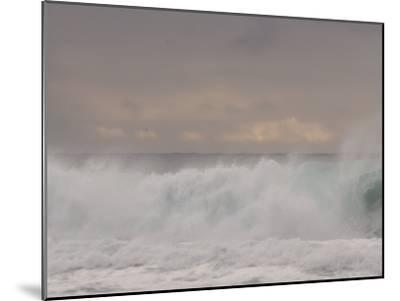 Waves Breaking on the Beach in Carmel, California-Phil Schermeister-Mounted Photographic Print