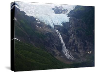 Rainbow Glacier Above the Chilkat Inlet-Michael Melford-Stretched Canvas Print