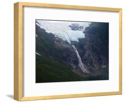 Rainbow Glacier Above the Chilkat Inlet-Michael Melford-Framed Photographic Print