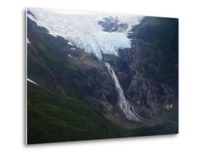 Rainbow Glacier Above the Chilkat Inlet-Michael Melford-Metal Print