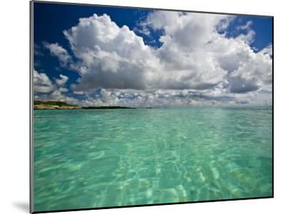 Pristine Turquoise Water Off the Coast of Aruba-Michael Melford-Mounted Photographic Print