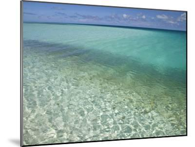 Clear Turquoise Water in the Seychelles Islands-Michael Melford-Mounted Photographic Print