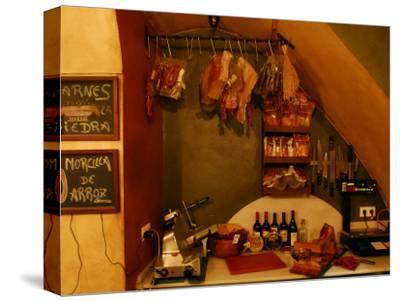 Inside a Tapas Restaurant-Raul Touzon-Stretched Canvas Print