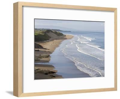 Whiterocks Beach from Dunluce Road Near the Seaside Town of Portrush-Rich Reid-Framed Photographic Print