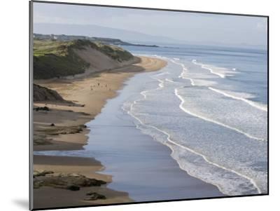Whiterocks Beach from Dunluce Road Near the Seaside Town of Portrush-Rich Reid-Mounted Photographic Print