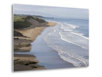 Whiterocks Beach from Dunluce Road Near the Seaside Town of Portrush-Rich Reid-Metal Print
