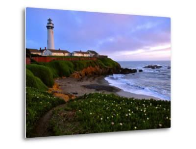 View of Pigeon Point Lighthouse, Off Scenic Route 1,California-Raymond Gehman-Metal Print