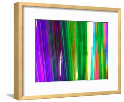 Colorful Plastic Tubes in San Francisco Plastics Shop-Raymond Gehman-Framed Photographic Print