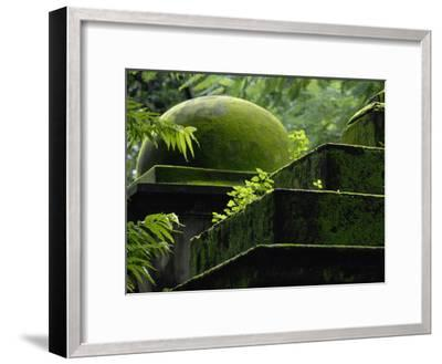 South Park Street Cemetery, Famous Cemetery During British East India-Steve Raymer-Framed Photographic Print