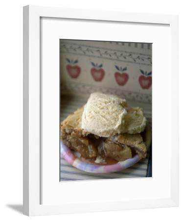 Apple Pie A' La Mode, or with Ice Cream on Top-Michael Melford-Framed Premium Photographic Print