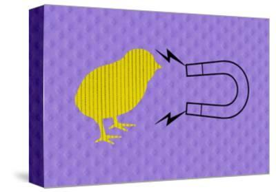 Chick Magnet--Stretched Canvas Print