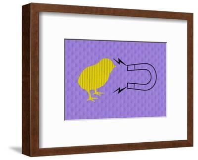 Chick Magnet--Framed Art Print
