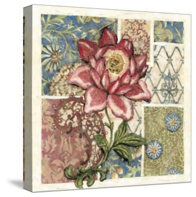Rose Chintz II-Chariklia Zarris-Stretched Canvas Print
