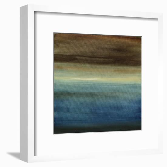 Abstract Horizon III-Ethan Harper-Framed Art Print