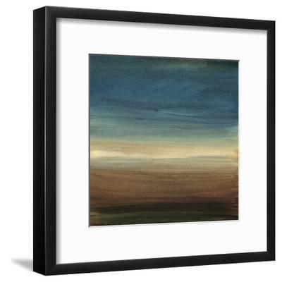 Abstract Horizon IV-Ethan Harper-Framed Art Print
