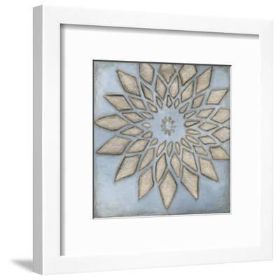 Silver Filigree I-Megan Meagher-Framed Art Print
