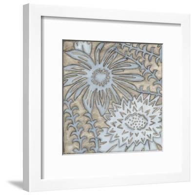 Silver Filigree III-Megan Meagher-Framed Art Print