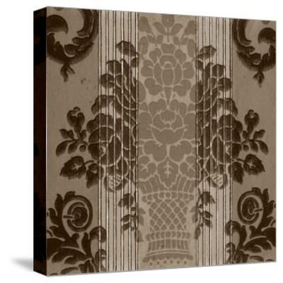 Vintage Wallpaper I-Vision Studio-Stretched Canvas Print
