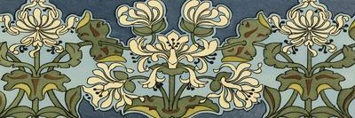 Honeysuckle Nouveau I-Anna Martin-Stretched Canvas Print