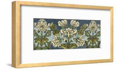 Honeysuckle Nouveau I-Anna Martin-Framed Art Print