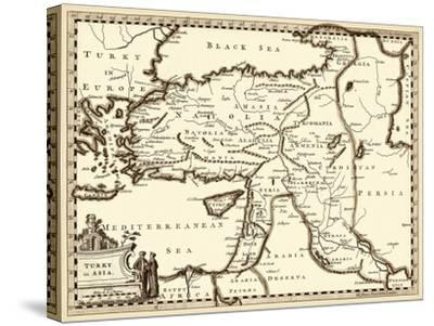 Antiquarian Map III-Vision Studio-Stretched Canvas Print