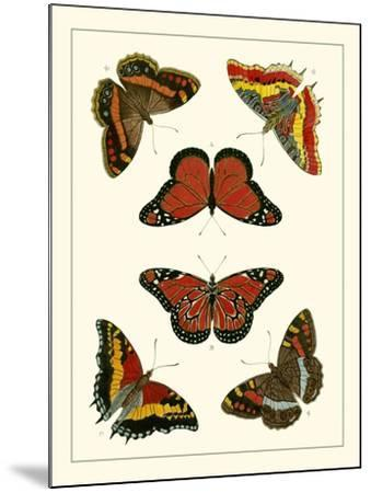 Butterflies I-Pieter Cramer-Mounted Art Print