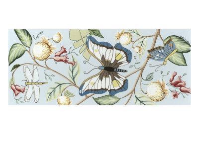 Butterfly Sky II-Megan Meagher-Framed Art Print