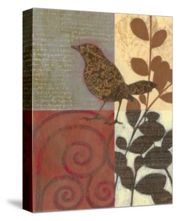 Paisley Sparrow-Norman Wyatt Jr^-Stretched Canvas Print