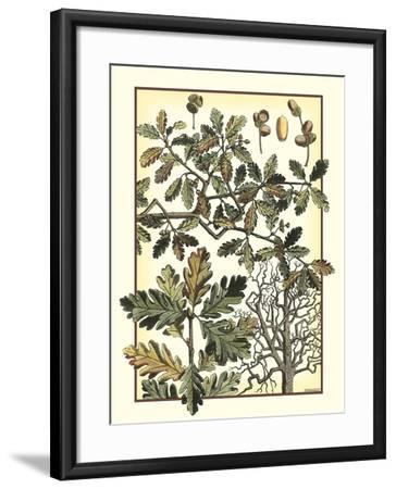 Arts and Crafts Oak-M^P^ Verneuil-Framed Art Print