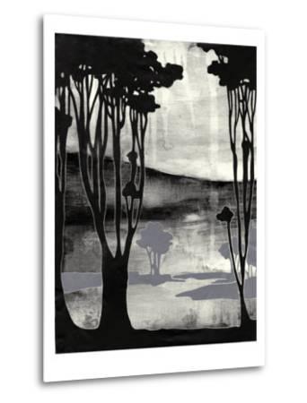 Nouveau Landscape II-Jennifer Goldberger-Metal Print