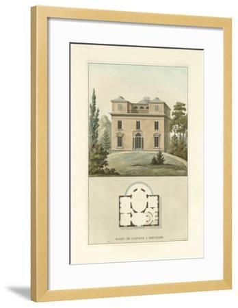 Architectural Detail II-Vision Studio-Framed Art Print