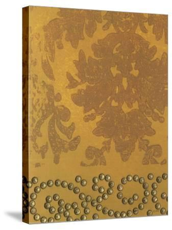 Damask with Nail Heads I-Norman Wyatt Jr^-Stretched Canvas Print