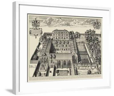 Oxford View--Framed Art Print