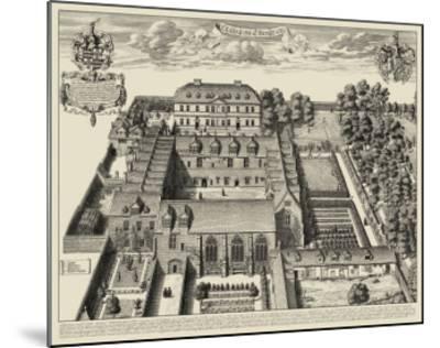 Oxford View--Mounted Art Print