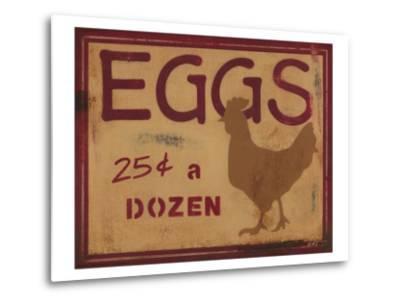Eggs-Norman Wyatt Jr^-Metal Print