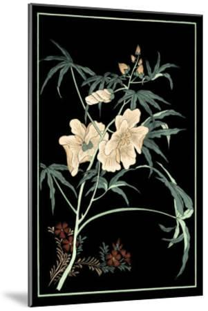 Midnight Floral II-Vision Studio-Mounted Art Print