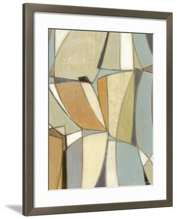 Structure II-Norman Wyatt Jr^-Framed Art Print