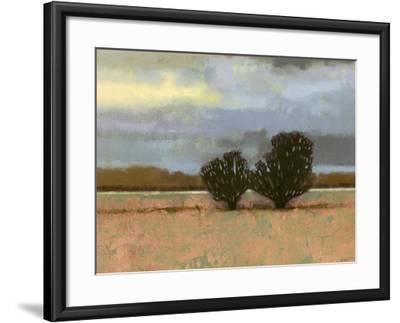 Approaching Storm I-Norman Wyatt Jr^-Framed Art Print