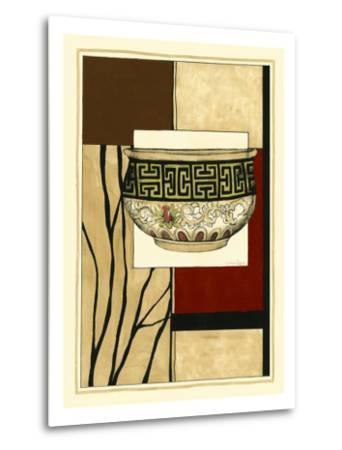 Printed Porcelain Garden IV-Jennifer Goldberger-Metal Print