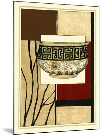 Printed Porcelain Garden IV-Jennifer Goldberger-Mounted Art Print