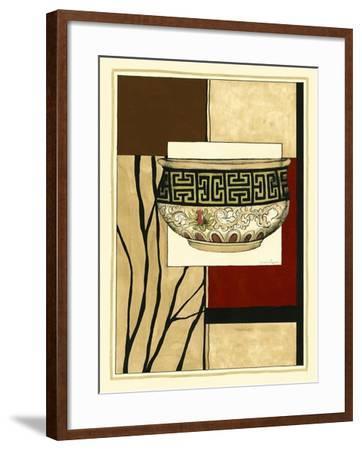 Printed Porcelain Garden IV-Jennifer Goldberger-Framed Art Print