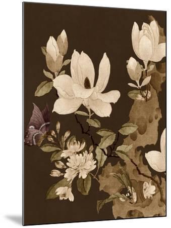 Asian Brocade II-Vision Studio-Mounted Art Print