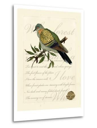 Romantic Dove I-Vision Studio-Metal Print