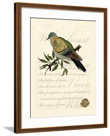 Romantic Dove I-Vision Studio-Framed Art Print